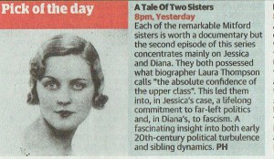 The Guardian Guide, Tale of Two Sisters, Pick of the Day, 20th May (1) (1)